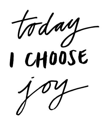 Today I tjoozz joy