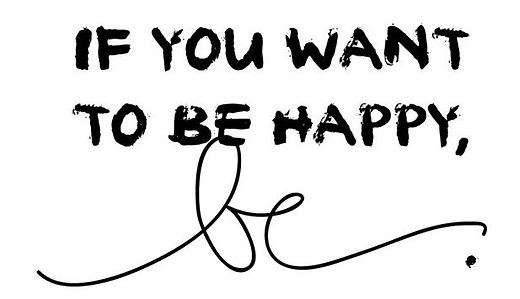 If you want to be happy - tjoozz