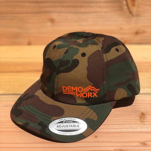 DemoWorx Camo Dad Cap