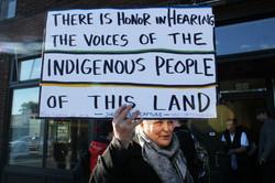 Native Community Pushes Back