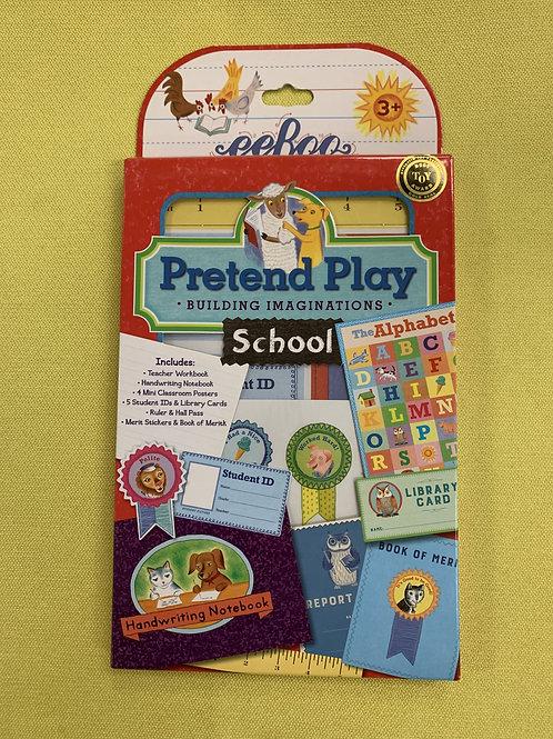 eeboo Pretend Play School