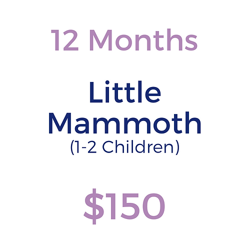 Annual Little Mammoth (for 1-2 children)