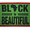 Thumbnail: Black is Beautiful Iron-On-patch