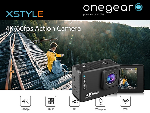 ONEGEARPRO XSTYLE EIS 4K 60 FPS