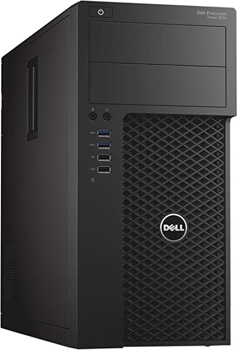 Workstation Dell T3620, XeonQuad, 16GB, 1TB, Vídeo 2GB, Windows 10 Pro