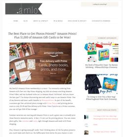 Amazon Prime Prints