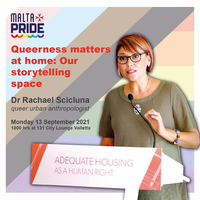 Queerness matters at home: Our storytelling space (Community Discussion)