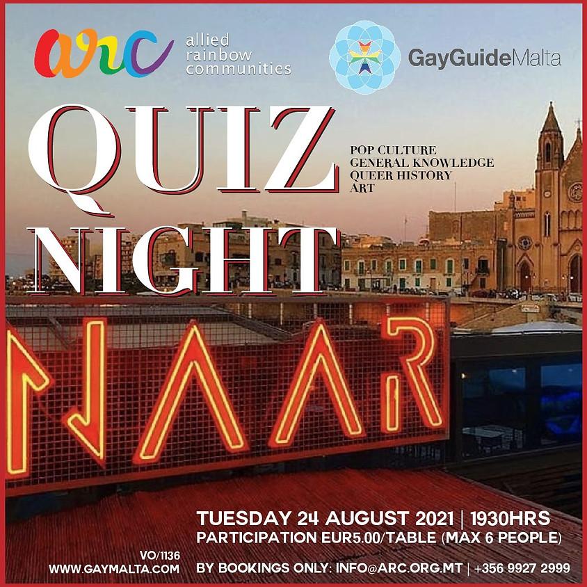 Quiz Night at Naar