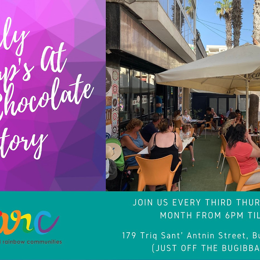 Monthly Catchups at the Malta Chocolate Factory