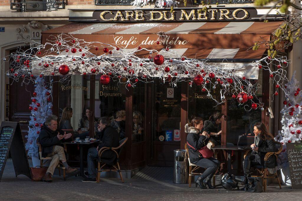 Noël Café du métro