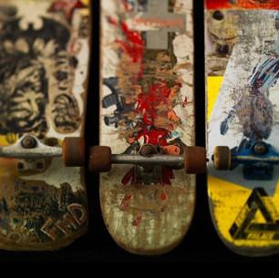 Skateboarding themed 16th birthday party.