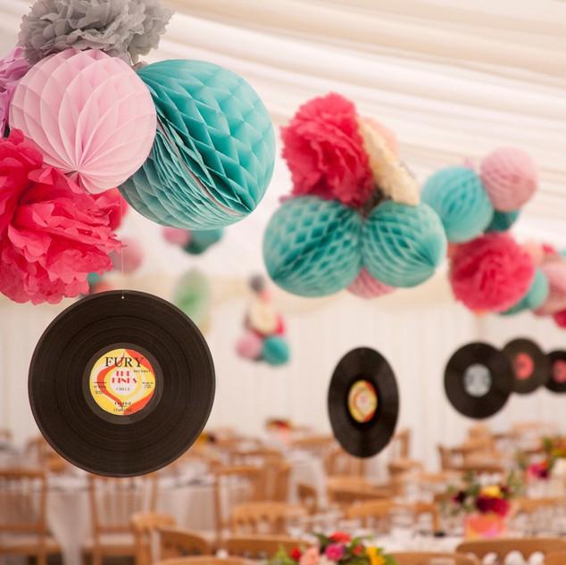 Charity Ball - 60's record mania.