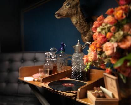 Gentleman's whisky bar.