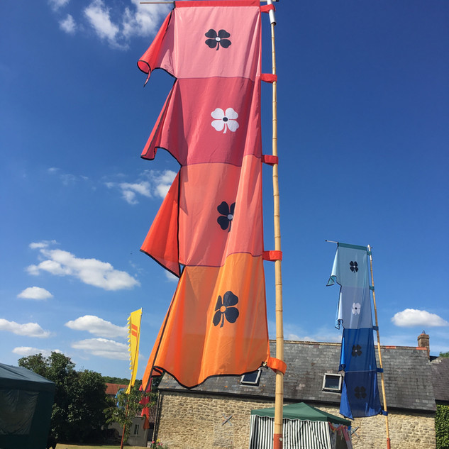 Glastonbury themed 21st party.