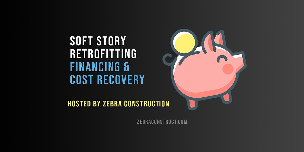 Soft Story Retrofitting | Financing & Cost Recovery