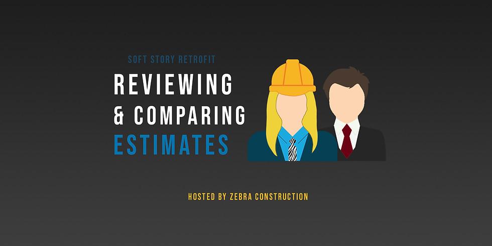 Reviewing & Comparing Estimates + Extras