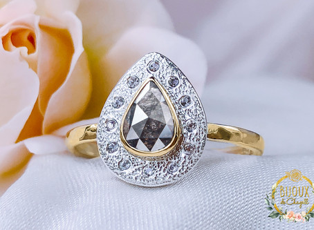 THE FASHIONABLE TREND OF ROUGH DIAMONDS