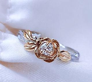 Gold_Rose_Diamond_silver_twig_ring_01.jp