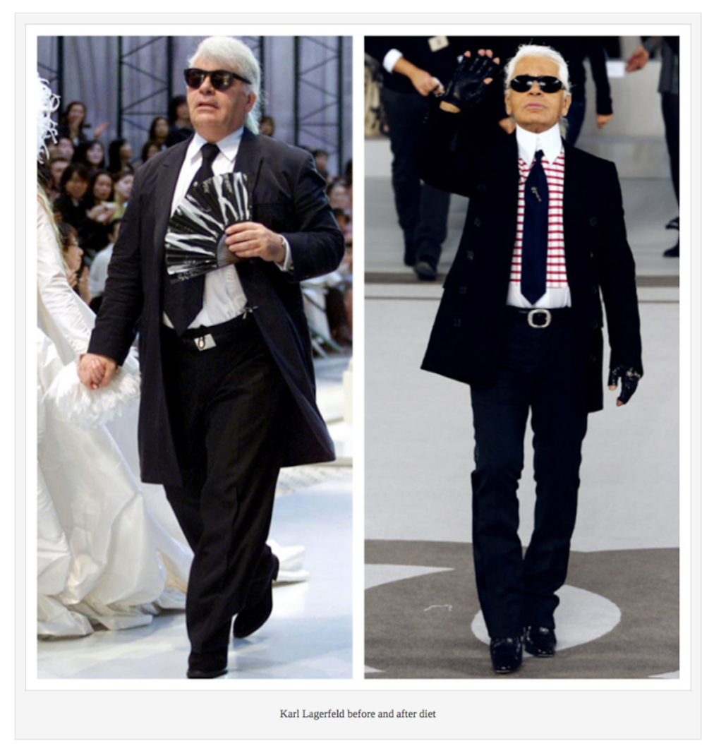 Karl Lagerfeld-before-after-his-diet