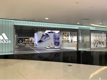 Adidas unveils the largest performance brand concept store in Singapore