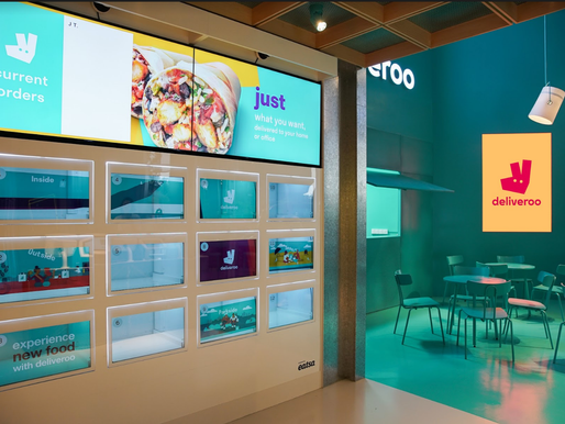 "Deliveroo Rolls Out Futuristic ""Food Market"" in Singapore"