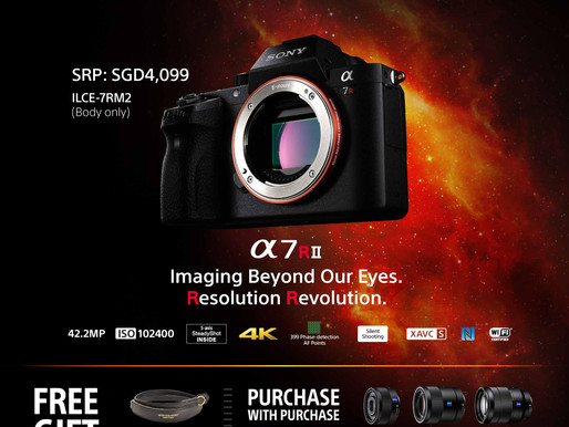 Sony's new α7R II Delivers Innovative Imaging Experience with World's First Back-Illumin