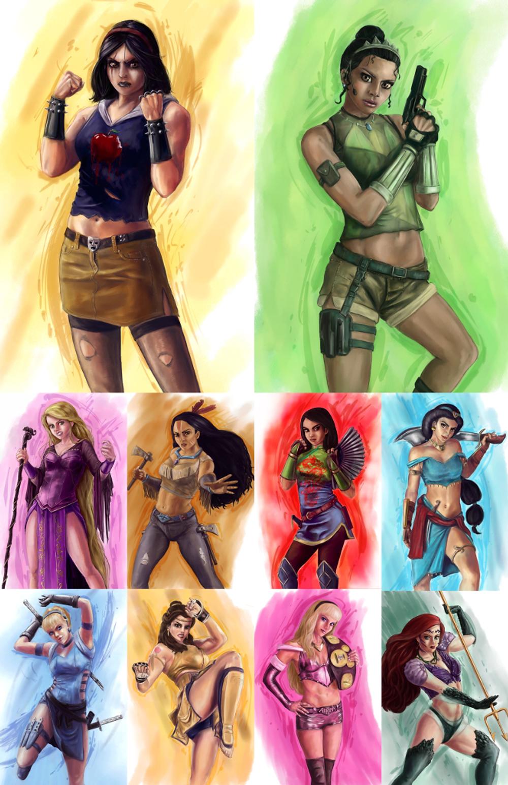 Disney-Princess-Fighters-2