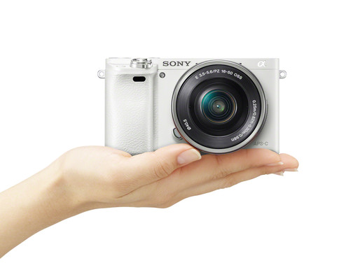 Capture Images in Style with the α6000 White Edition from Sony