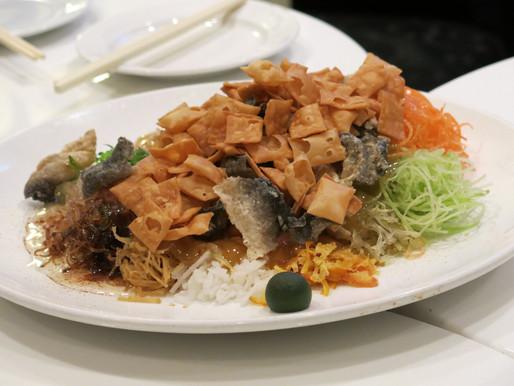 Who Doesn't Like Their Yu Sheng Crispy?