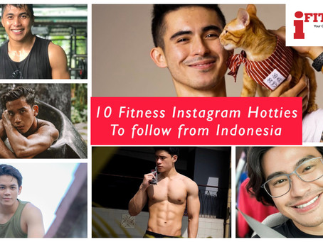 10 Fitness Instagram Hotties to follow from Indonesia