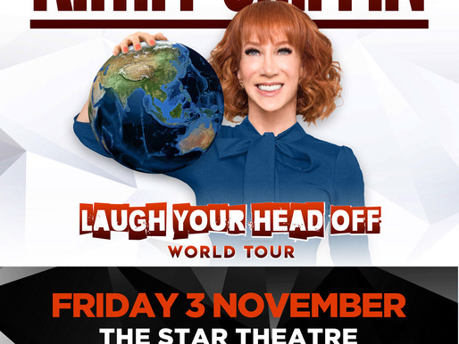 'Laugh your head off' with American Comedian KATHY GRIFFIN