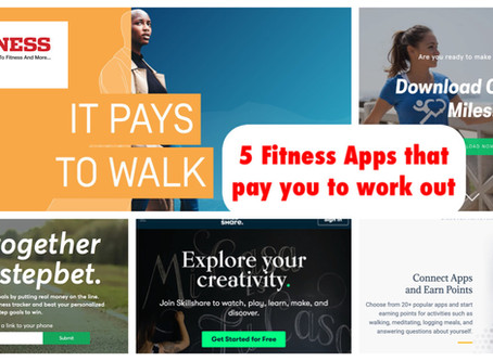 5 Fitness apps that pay you to work out