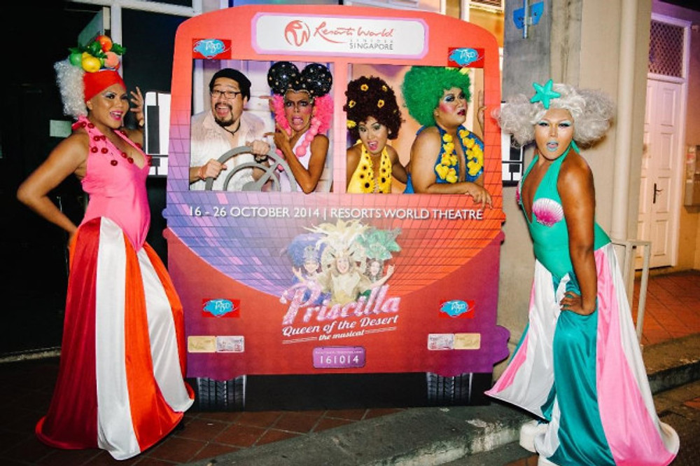 Local Artiste Jonathan Lim stars in Priscilla Queen of the Desert in Oct