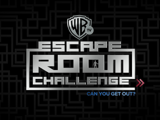 "GAME ON! Singapore's very first ""Warner TV Escape Room Challenge"