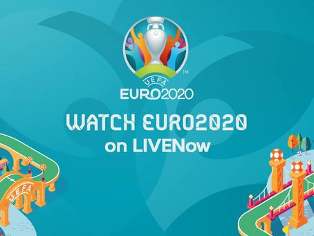 Watch EURO2020 on LIVENow