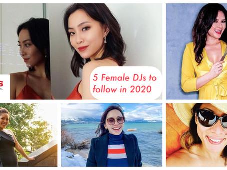 5 Female Radio DJs to follow in 2020