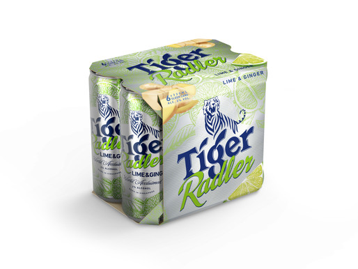 Tiger Radler now comes in a sleek new look