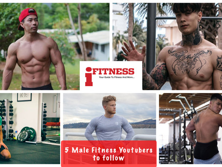 5 Male Fitness Youtubers you should subscribe to