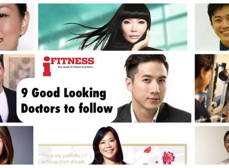 9 Good Looking Doctors in Singapore