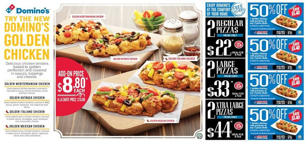 Domino's Golden Chicken