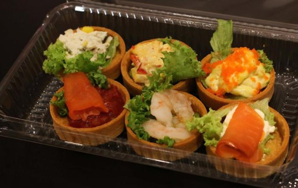 Seafood Tarts