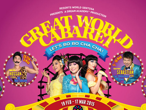 Dance to the Beat of Bo Bo Cha Cha with The Great World Cabaret