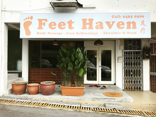 A Traditional Treat with a Modern Twist: Feet Haven opens 3rd outlet in Bukit Timah