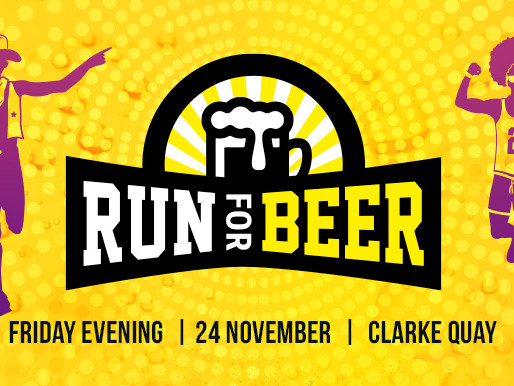 Run for Beer 2017 – Launch of Singapore's Hoppiest Run