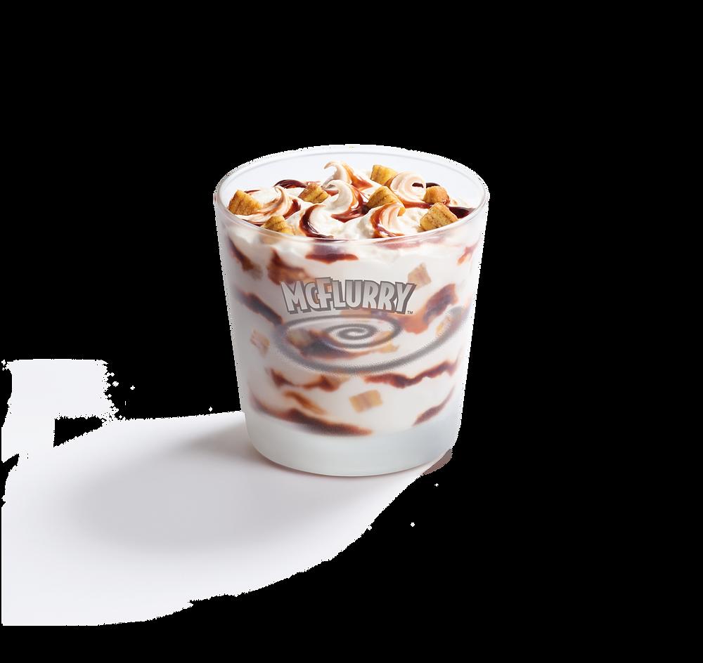 Gula Melaka McFlurry with Layer Cake Bites