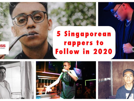 5 Singaporean Rappers to follow in 2020