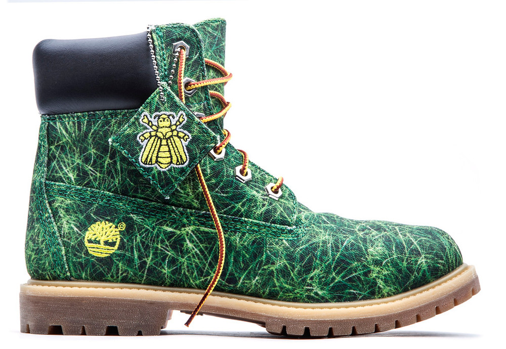 Timberland Limited Edition Bee Line Women's Canvas Boots 1