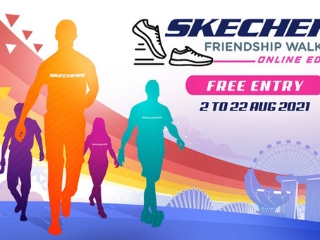 Clock Up Steps while Reconnecting with Loved Ones As Skechers Friendship Walk Returns This August!