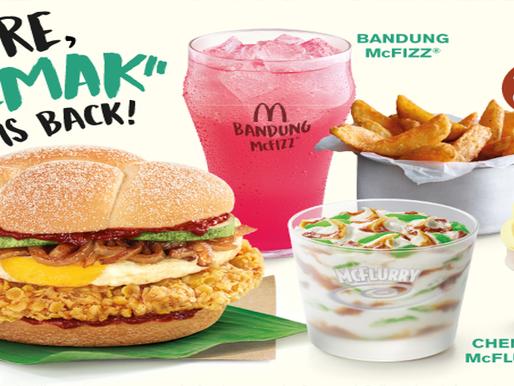 """McDonald's Singapore fulfils Singaporeans' wishes by bringing back the """"Nasi Lemak"""" Burger"""