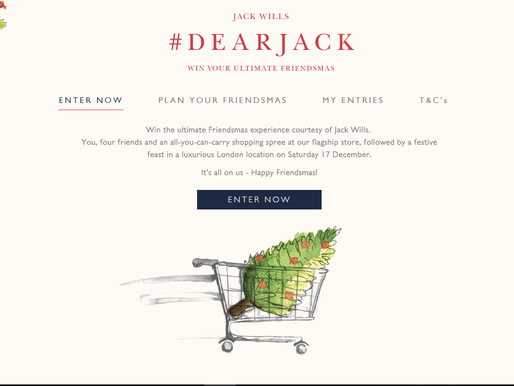 Win Your Ultimate Friendmas by Jack Wills